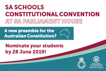 SA Schools Constitutional Convention
